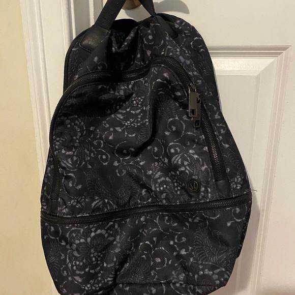 lululemon athletica Handbags - BRAND NEW LULULEMON BACKPACK!!!